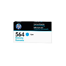 HP 564 Economy Yield Cyan Ink