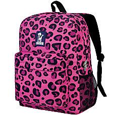 Wildkin Crackerjack Backpack Pink Leopard