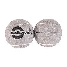 Walkerballs Walker Tennis Ball Glides Gray