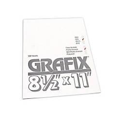 Grafix Matte Acetate Sheets 8 12