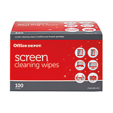 Office Depot Brand Screen Cleaning Wipes