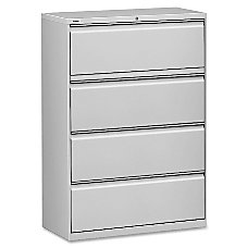 Lorell HL8000 Series 4 Drawer Lateral