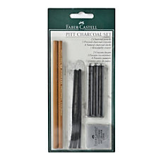 Faber Castell Pitt Charcoal Set Black