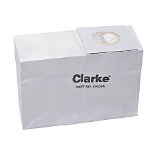 Paper Filter Bags For Clarke CarpetMaster