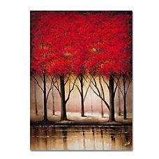 Trademark Global Serenade In Red Gallery