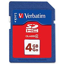 Verbatim Secure Digital High Capacity SDHC
