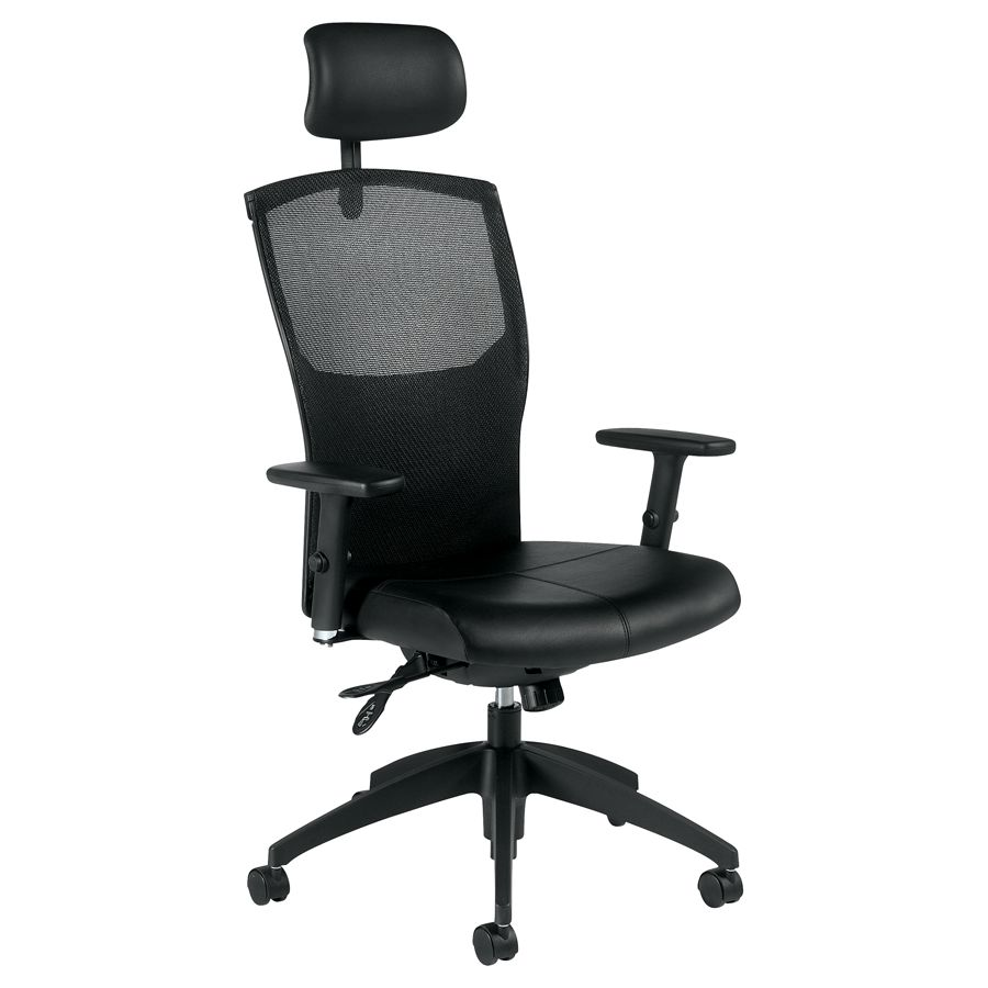 global alero high back multi tilter chair with headrest 48 12 h x