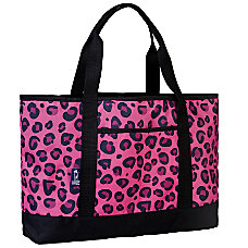 Wildkin Tote All Bag Pink Leopard