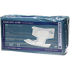 Comfort Aire Disposable Briefs Regular 40