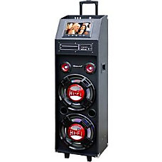 Supersonic IQ3712DJBT Speaker System 120 W