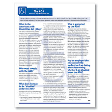 ComplyRight ADA Fact Sheets 8 12