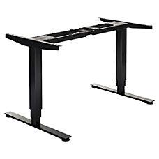 Lorell Quadro SitStand 3D Desk Frame