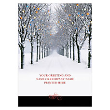 Personalized Front Imprint Holiday Cards 5