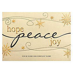 Personalized Front Imprint Holiday Cards 7