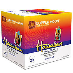 Copper Moon Coffee Aroma Cups Hawaiian