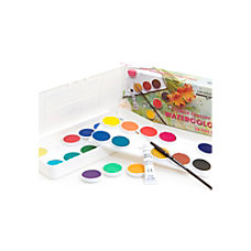 Grumbacher Deluxe Opaque Watercolor Set Set