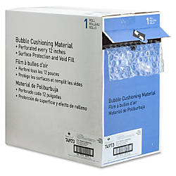 Sparco Dispenser Carton Bubble Cushioning 12