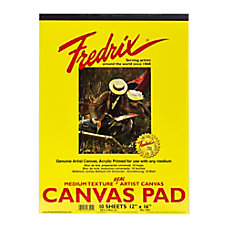Fredrix Canvas Pad 12 x 16