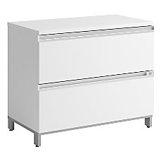 Bush Momentum Laminate Lateral File Cabinet