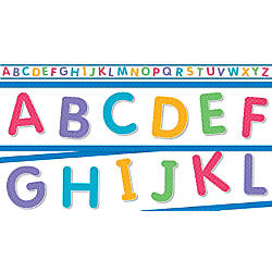 Scholastic Teachers Friend ABC Mini Bulletin