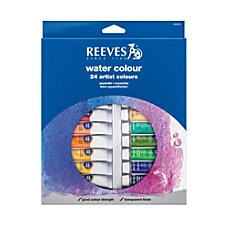 Reeves Watercolor Paints Set Of 24