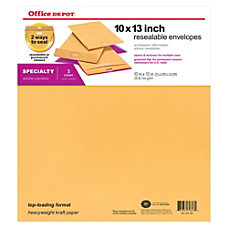 Office Depot Brand Reusable Seal Catalog
