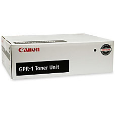 Canon Black Toner Cartridge Black Laser