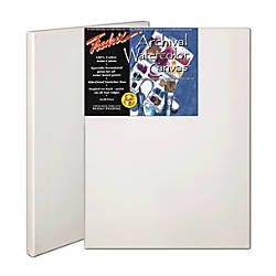 Fredrix Archival Watercolor Stretched Canvases 12