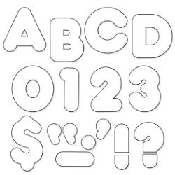 TREND Ready Letters Casual 4 White