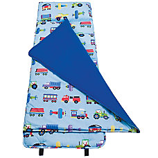 Olive Kids Nap Mat Trains Planes