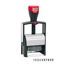 Cosco 2000 Plus Self Inking Numbering