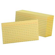 Office Depot Brand Index Cards 3