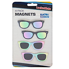 LockerMate Magnets Multicolor Sunglasses Pack Of