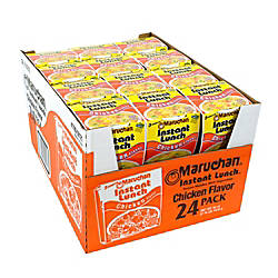 Maruchan Chicken Flavored Instant Lunches Pack