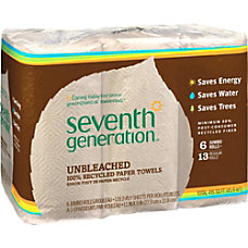 Seventh Generation Natural Unbleached Paper Towels