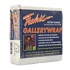 Fredrix Gallerywrap Stretched Canvases 5 x