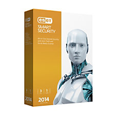 ESET 3 User Smart Security 7