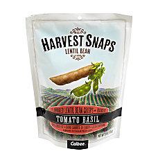 Harvest Snaps Tomato Basil Lentil Bean