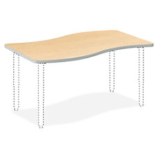 HON Build Series Ribbon Shape Table