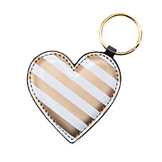 See Jane Work Heart Key Chain