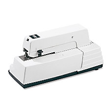 Esselte 90E Commercial Electric Stapler White
