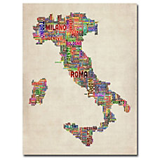 Trademark Global Italy II Gallery Wrapped