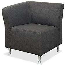 Lorell Lounger Chair Four legged Base
