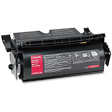 Lexmark LEX12A6735 Black Toner Cartridge