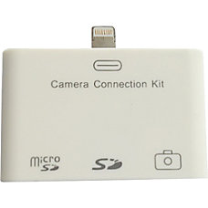 4XEM Lightning Camera Connection Card Reader