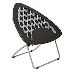 Brenton Studio Bungee Folding Chair Black