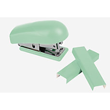 Office Depot Brand Mini Stapler Mint