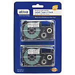 Ativa Model 9BCL2 Black On Clear
