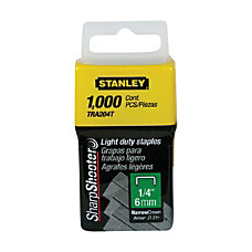 Stanley Bostitch 14 Light Duty Staples