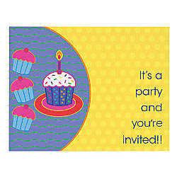 Full Color Note Card Invitations 2